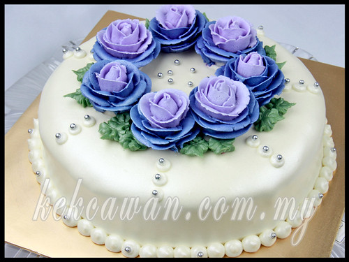 Hantaran - Moist choc with steam buttercream