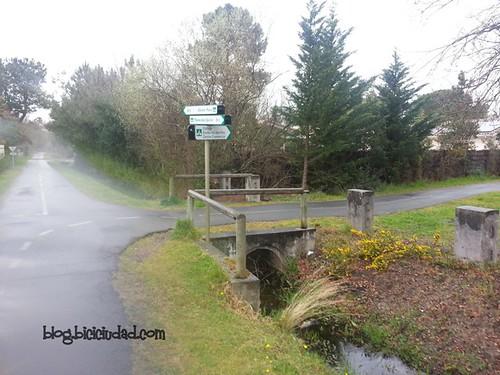 carril bici Le Teich Francia