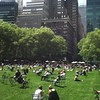 Lunchtime in Bryant Park #nyc