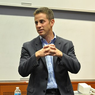 Ben Fischman, Guest Speaker from RueLaLa at Brandeis IBS