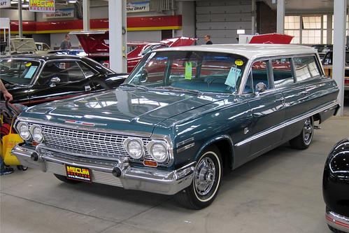 1963 Chevrolet Impala wagon a