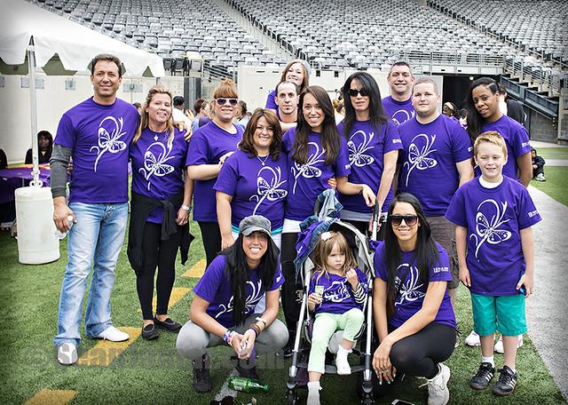 Team Forza ALR Walk with Us to Cure Lupus Walkathon - Met Life Stadium - NJ - 2013