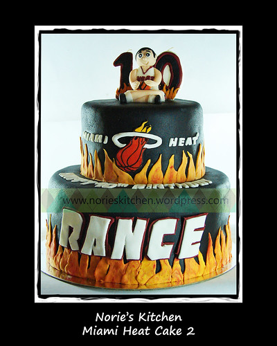 Norie's Kitchen - Miami Heat Cake 2 by Norie's Kitchen