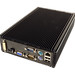 LPC-480FS - Powerful Fanless Small Mini PC, rear view
