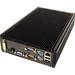 LPC-480FS - Powerful Fanless Small Mini PC, rear view