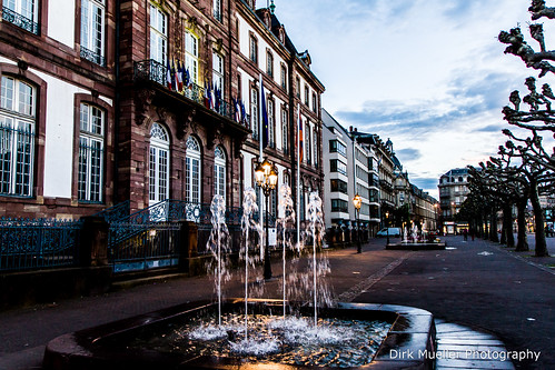 Fountains decorate the Avenue by Dirk Mueller Photography