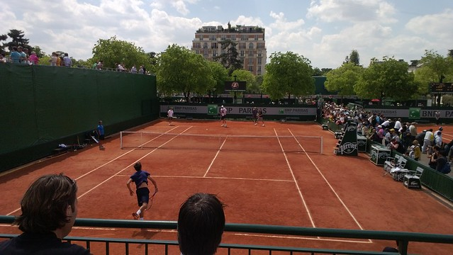 Court 9 at Roland Garros