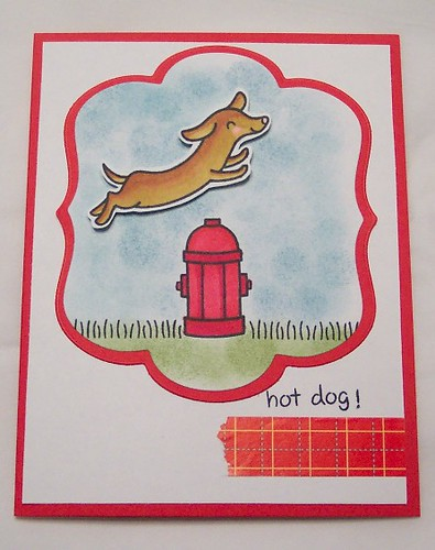 Hot Dog Card