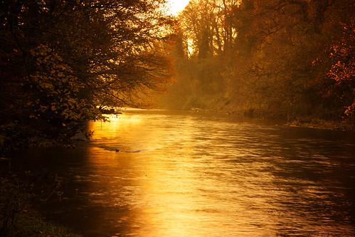 autumn river goldenhour goytriver chadkirkcp