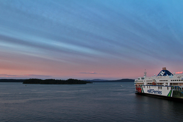 Vancouver Island Sunset Ferry