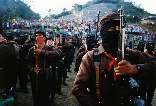 Exército Zapatista - 1994 - Créditos: Juán Popoca