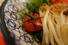 Tomato @ Black Sesame Hiyashi Chuka @ Kodawari Ram…