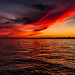 Red Sky at Night, Sailor's Delight. by A Great Capture