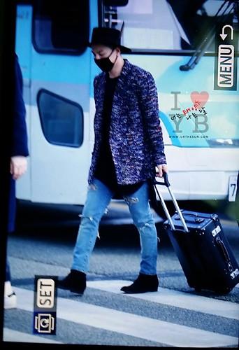 Big Bang - Incheon Airport - 21mar2015 - Tae Yang - Urthesun - 01