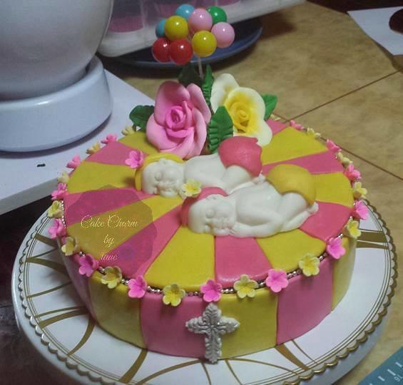 Double Dose of Sweetness Cake by Iane Baluyot of By iane