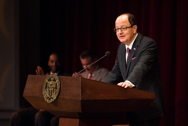 Trojan Family Weekend 2016 (President Nikias Address to Parents)