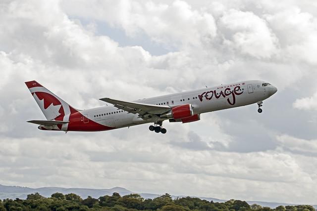 C-FJZK  Boeing 767-3Q8ER  Air Canada Rouge