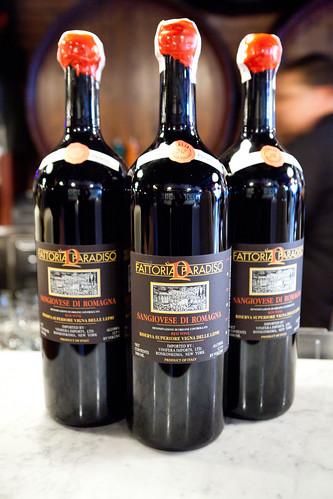 Magnum bottles of Fattoria Paradiso Sangiovese di Romagna 1993