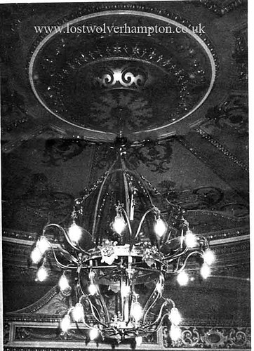 Chandelier-Made by Meynells of Montrose Street.