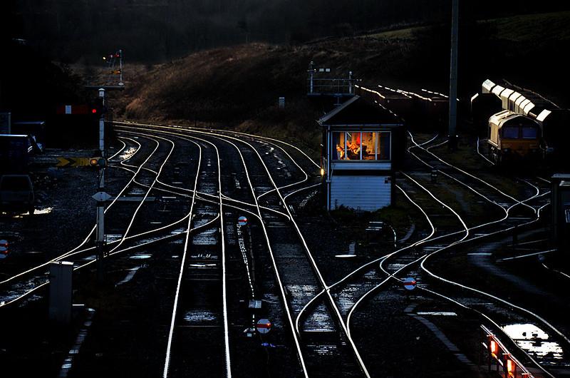 Signal Box in England, UK