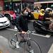Taipei - bike rider in distress by carlosfpardo