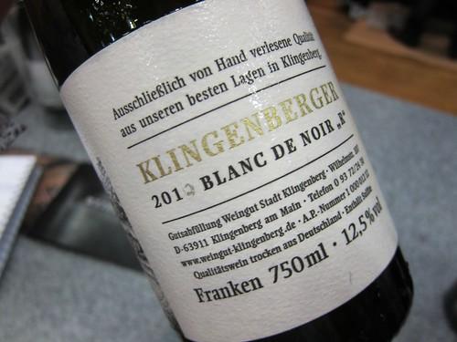 KLingenberger R blanc de noir 2012