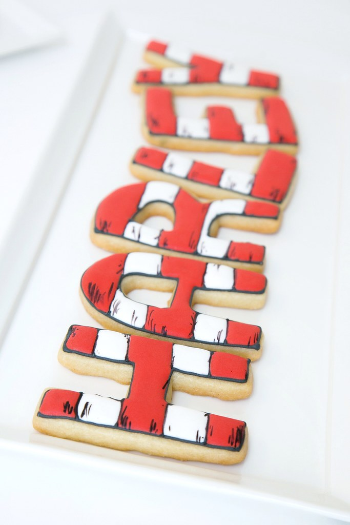 Dr. Seuss Baby Shower Cookies