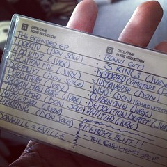 This cassette started Tanya Morgan. Ask @dondub and  @livefromoh10 what this is.
