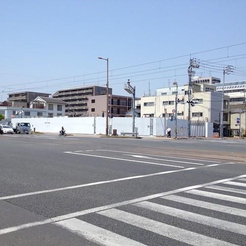 上町2丁目交差点北西角に高知信金の支店 by haruhiko_iyota