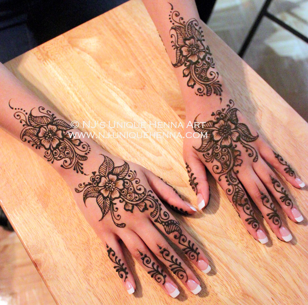 Bridal mehndi 2013 - Hena S Simple Bridal Henna 2013 Nj S Unique Henna Art