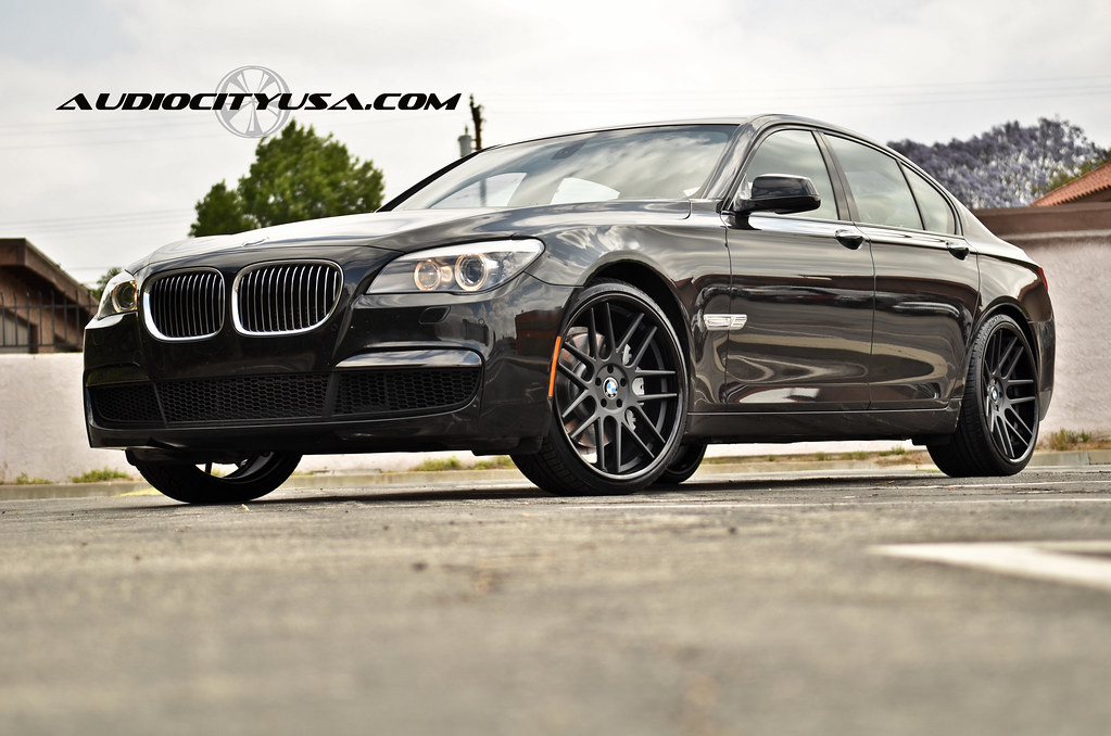 Gianelle Yerevan Matte Black Deep Concave On BMW I - 2011 bmw rims