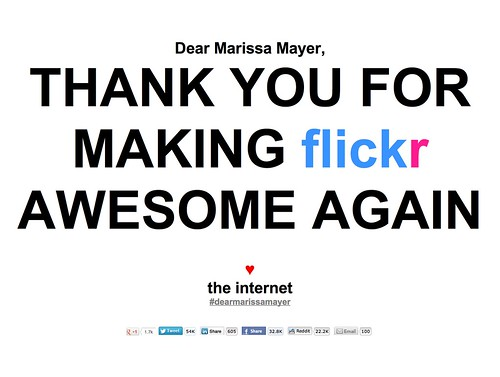 Dear internet.. We <3 you -Flickr