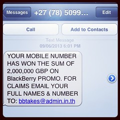 Uhhh, I don't think so . . #scam #scammers #spam #blackberry #instascam #instaspam #dodgy
