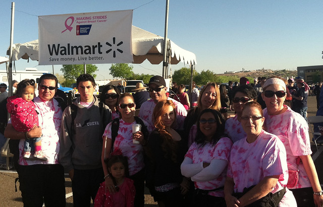 Corizon New Mexico team makes strides for breast cancer
