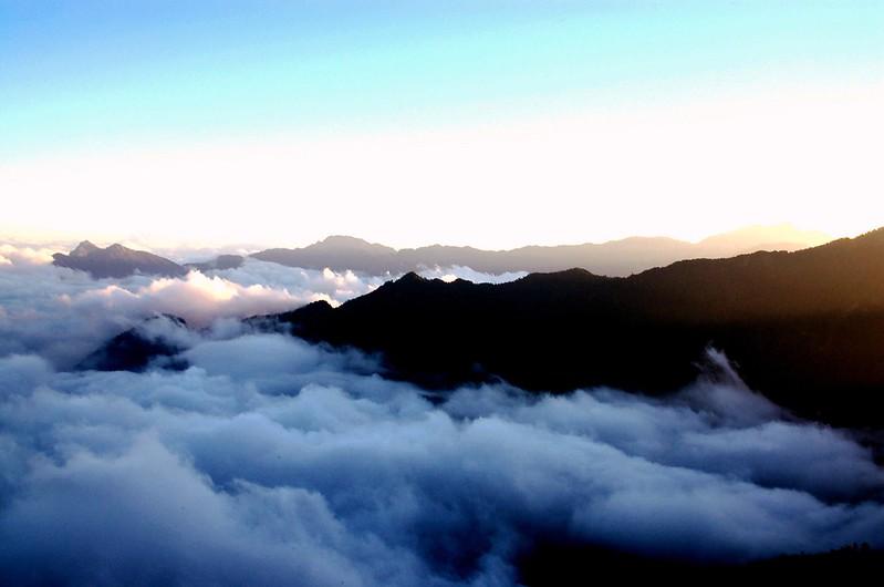 奇萊東稜(From 無明山西峰) 1
