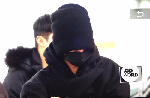 Big Bang - Incheon Airport - 27nov2015 - GD World - 02