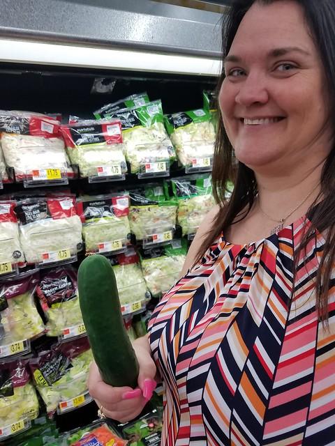 SecretPlayWife Loves Cucumbers
