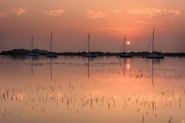 Sunset Over Bosham Channel (Explore 28-8-2016)