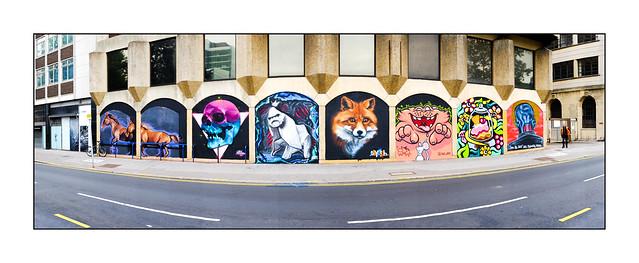 Graffiti (Various), South London, England.
