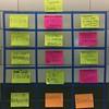 @edcampbrooklyn session board. #edcamp @edcampusa #nyedchat