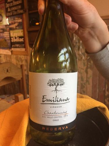 Punta Arenas: très bon vin blanc chilien !