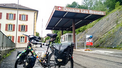 Crossing from France to Switzerland aux Brenets