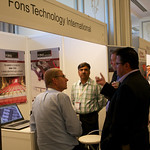Delegates at the Fons Technology International stand
