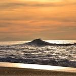 Photos des lecteurs | Coucher de soleil sur la plage de la pointe, Capbreton