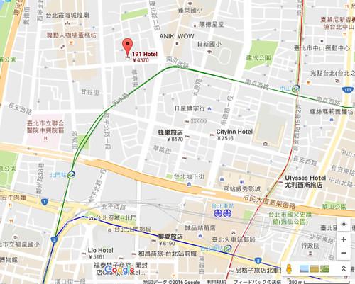 191 ホテル寧夏 (台北191旅店 (宁夏馆))