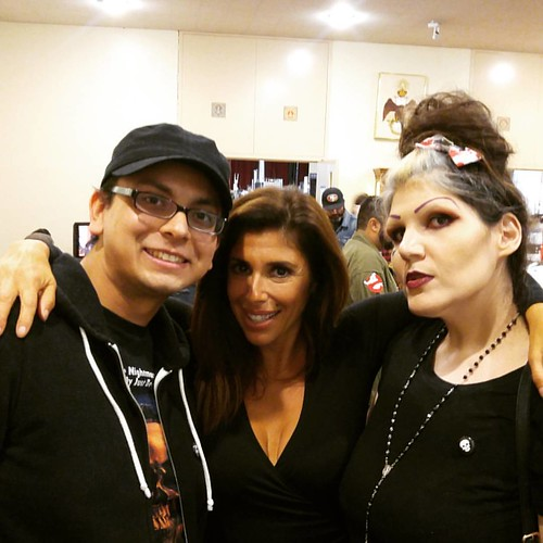 Felissa Rose was so incredibly nice and gracious. She spent time to talk to us. It's great how much she appreciates her fans. ❤ @felissarose123 #sinistercreaturecon #felissarose #sleepawaycamp