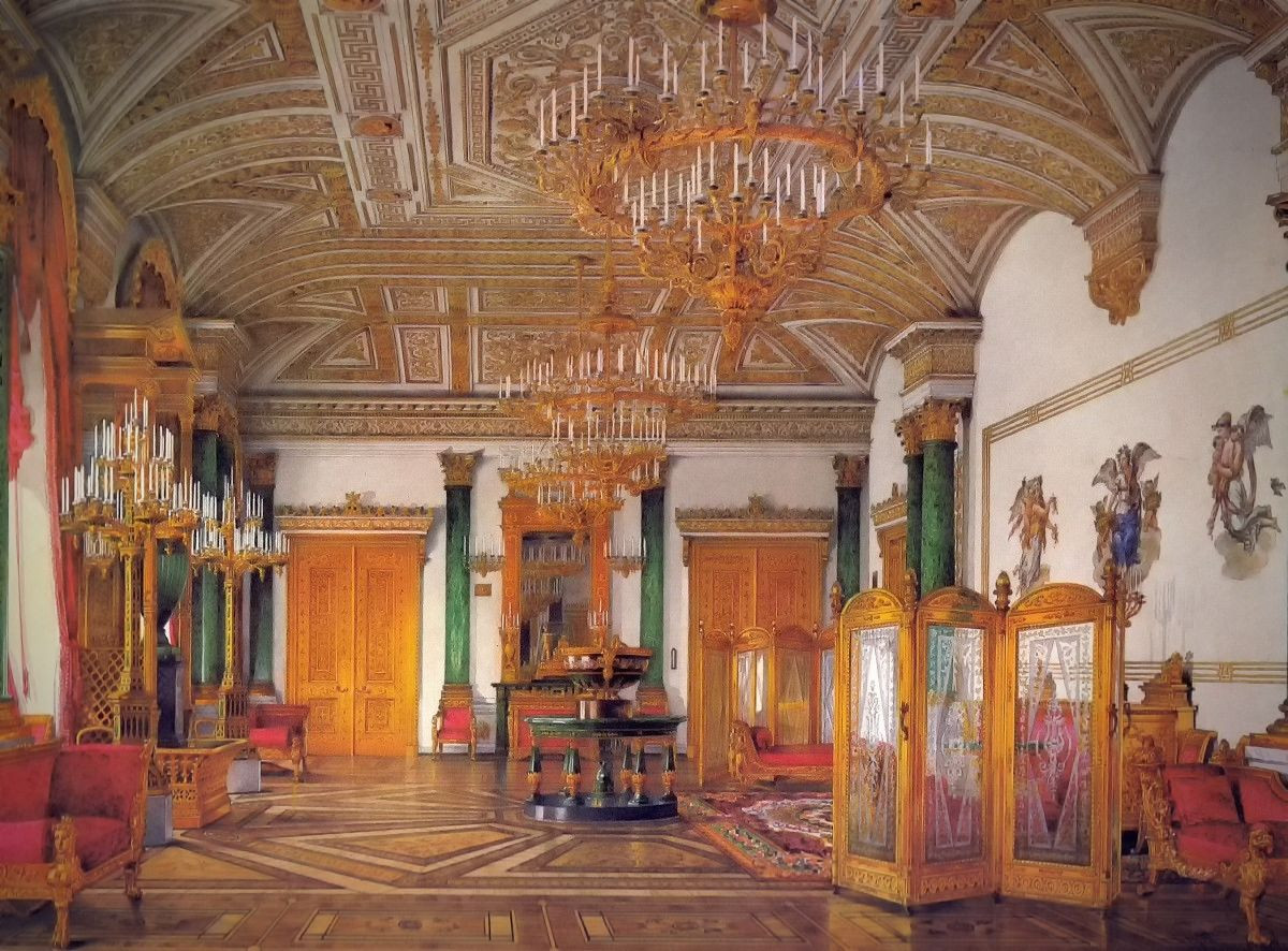 The Malachite Room, 1864