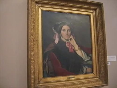 Salle du musée Ingres