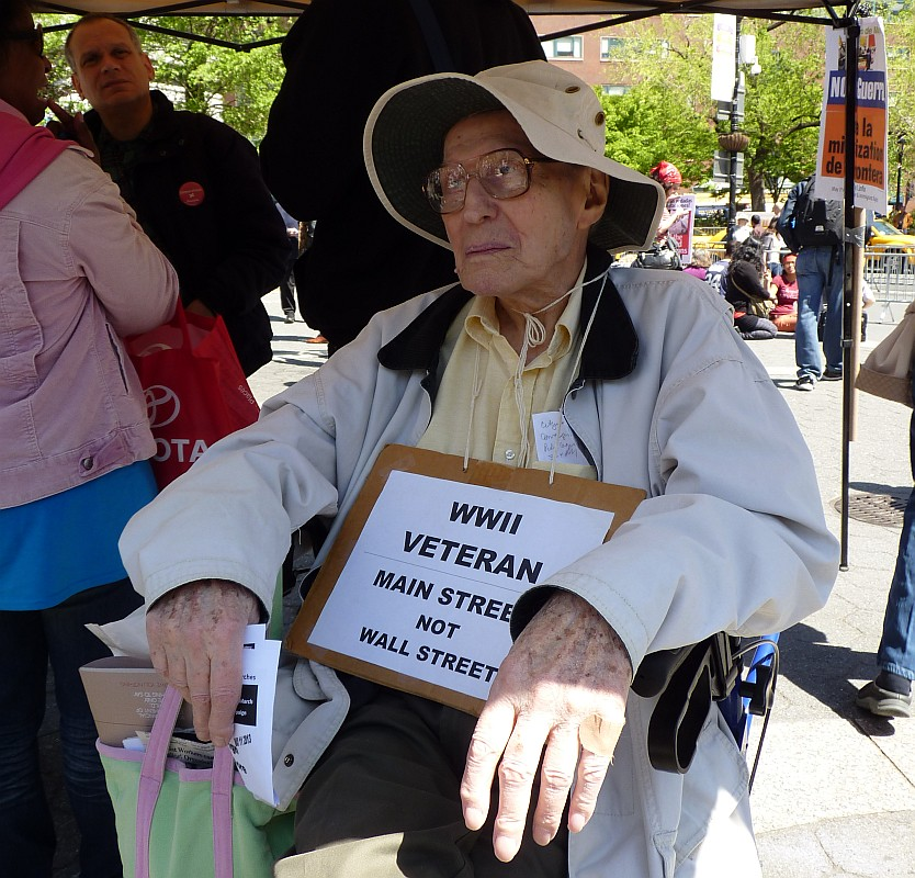 May Day Veteran