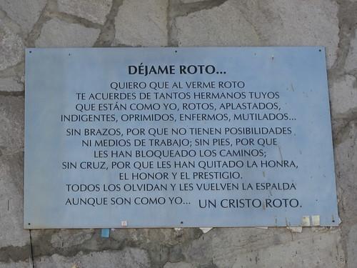Mom's visit to Aguascalientes * El Cristo Roto